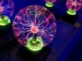 э ектростатический свет Стоковые Фотографии RF