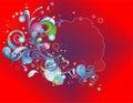 э ементы пре посы ки цветастые Стоковое Изображение