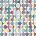 与圈子的几何抽象背景 免版税库存照片