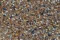 与端足目动物的混杂的零钱 免版税图库摄影