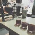 专业咖啡会议 库存图片