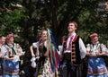 乌克兰舞蹈家 库存照片