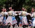 乌克兰舞蹈家 免版税库存图片