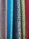 五颜六色的 品 免版税库存图片