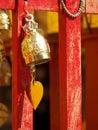 佛教响铃 免版税库存照片