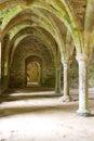 修道院老石制品 免版税库存照片