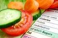 健康的饮食 免版税库存照片
