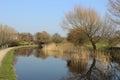 兰卡斯特运河、伯勒屯le sands和carnforth 免版税库存图片