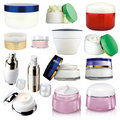 化妆用品提取乳脂 免版税库存图片