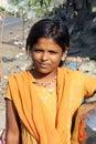 印第安可怜的少年 免版税库存照片
