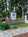 吹的岩石城镇厅签到北卡罗来纳 免版税图库摄影