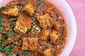 咖喱马来的传统素食主义者 库存图片