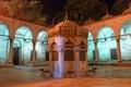 喷泉在清真寺 库存照片