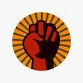 国际人权日,海报,行情,模板 图库摄影