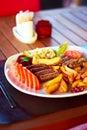 土耳其kofte的丸子 库存图片