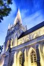圣安德鲁的大教堂 库存照片