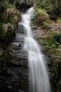 在国家公园泰国的深森林瀑布 库存照片