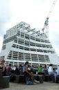 塔特现 新的引伸大厦 图库摄影