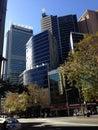 大厦城市pattaya摩天大楼泰国 库存图片
