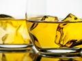 威士忌酒 免版税库存照片