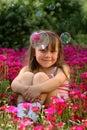小的女孩 免版税库存照片