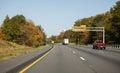 州际公路95在弗吉尼亚 库存照片