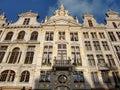 布鲁塞尔大广场 布鲁塞尔,比利时 免版税图库摄影