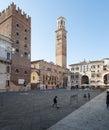 广场dei 士 罗纳威尼托意大利欧  免版税库存图片