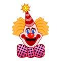 庆祝小丑 库存图片