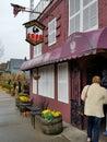 底特律:波兰餐馆在hamtramck 库存图片