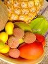 异乎寻常的果子 库存照片