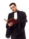 律师人 象 免版税库存照片