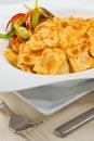 意大利面食馄饨 图库摄影