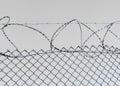 抽象有刺的概念设计例证电汇 免版税库存图片