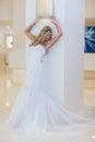 抽象背景新娘礼服女孩婚礼  人 免版税库存图片