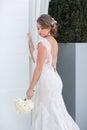 抽象背景新娘礼服女孩婚礼  人 库存图片
