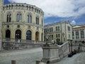 挪威秋天 库存照片
