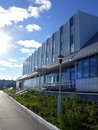 旅馆冰山在nadym,俄罗斯  月 日 库存照片
