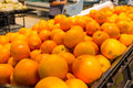 橙色超级市场 图库摄影
