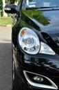 汽车被导入的部分 免版税库存图片