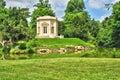 法国,在凡尔赛pa parc的玛丽 安托瓦内特庄园 免版税库存照片