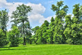 法国,在凡尔赛pa parc的玛丽 安托瓦内特庄园 库存照片