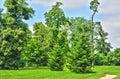 法国,在凡尔赛pa parc的玛丽 安托瓦内特庄园 库存图片