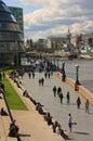 泰晤士路径Tower Bridge 免版税库存照片