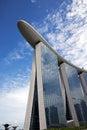 海湾海 广场新加坡 免版税图库摄影