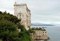 海 学摩纳哥的博物馆 库存图片