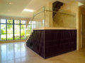 现代内部装饰业-楼梯 免版税图库摄影