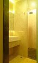 现代温泉内部装饰业 免版税库存图片