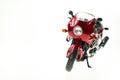 现实玩具摩托车 库存图片