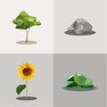 生态的概念传染媒  库存照片